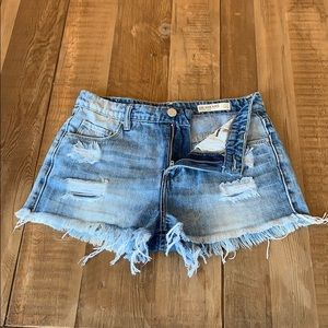 Blank NYC Denim cut off shorts